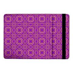 Purple Moroccan Pattern Samsung Galaxy Tab Pro 10 1  Flip Case by SaraThePixelPixie