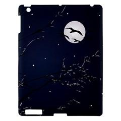 Night Birds And Full Moon Apple Ipad 3/4 Hardshell Case by dflcprints