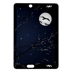 Night Birds and Full Moon Kindle Fire HD 7  (2nd Gen) Hardshell Case