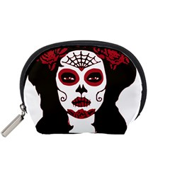 Day Of The Dead Accessory Pouch (Small) by EndlessVintage
