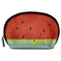 Watermelon By Arts    Accessory Pouch (large)   9txirk4o6wcp   Www Artscow Com Front