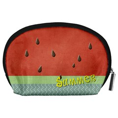 Watermelon By Arts    Accessory Pouch (large)   9txirk4o6wcp   Www Artscow Com Back