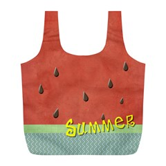 Watermelon  By Arts    Full Print Recycle Bag (l)   9l6zke1c5lgy   Www Artscow Com Front