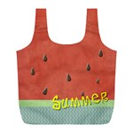 watermelon  - Full Print Recycle Bag (L)