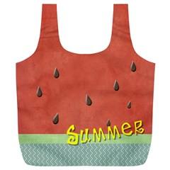 Watermelon  By Arts    Full Print Recycle Bag (xl)   Y0tr1xupub06   Www Artscow Com Front
