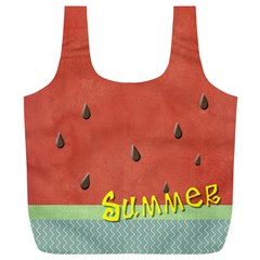 Watermelon  By Arts    Full Print Recycle Bag (xl)   Y0tr1xupub06   Www Artscow Com Back
