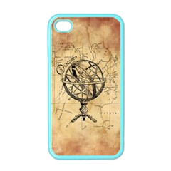 Discover The World Apple Iphone 4 Case (color) by StuffOrSomething