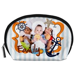 Kids By Mac Book   Accessory Pouch (large)   Yhwhnc5cjboz   Www Artscow Com Front