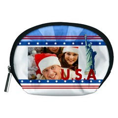 Usa By Mac Book   Accessory Pouch (medium)   Y22cd256fyrg   Www Artscow Com Front