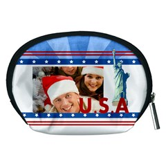 Usa By Mac Book   Accessory Pouch (medium)   Y22cd256fyrg   Www Artscow Com Back