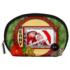 Christmas By Debe Lee   Accessory Pouch (large)   4v6ja8d3z9ve   Www Artscow Com Front