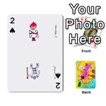 Jeu ALICE - Playing Cards 54 Designs