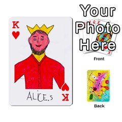 King Jeu Alice By Braunschweig   Playing Cards 54 Designs   L5bryezycv78   Www Artscow Com Front - HeartK