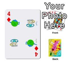 Jeu Alice By Braunschweig   Playing Cards 54 Designs   L5bryezycv78   Www Artscow Com Front - Diamond4