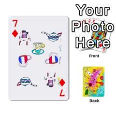 Jeu Alice By Braunschweig   Playing Cards 54 Designs   L5bryezycv78   Www Artscow Com Front - Diamond7