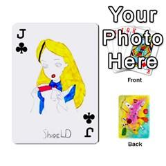 Jack Jeu Alice By Braunschweig   Playing Cards 54 Designs   L5bryezycv78   Www Artscow Com Front - ClubJ