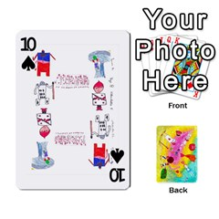 Jeu Alice By Braunschweig   Playing Cards 54 Designs   L5bryezycv78   Www Artscow Com Front - Spade10