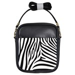 Zebra Purse - Girls Sling Bag