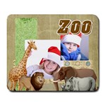 zoo - Large Mousepad