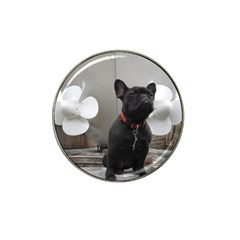 French Bulldog Golf Ball Marker (for Hat Clip) by StuffOrSomething