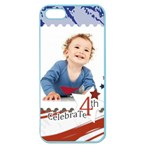 july 4 usa - Apple Seamless iPhone 5 Case (Color)