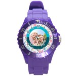 summer - Round Plastic Sport Watch (L)
