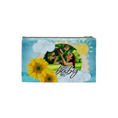 Summer By Summer Time    Cosmetic Bag (small)   Wnqdbb1bwspc   Www Artscow Com Back