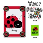 LADYBUG LUNCH DECK 1 - SHARED - Playing Cards 54 Designs