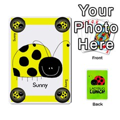 Ladybug Lunch Deck 1   Shared By Jonathan Warren   Playing Cards 54 Designs   Qrvr11mzalgs   Www Artscow Com Front - Heart4