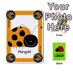 Ladybug Lunch Deck 1   Shared By Jonathan Warren   Playing Cards 54 Designs   Qrvr11mzalgs   Www Artscow Com Front - Heart9