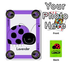 Ladybug Lunch Deck 1   Shared By Jonathan Warren   Playing Cards 54 Designs   Qrvr11mzalgs   Www Artscow Com Front - Diamond4