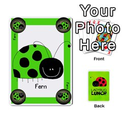 Ladybug Lunch Deck 1   Shared By Jonathan Warren   Playing Cards 54 Designs   Qrvr11mzalgs   Www Artscow Com Front - Diamond9