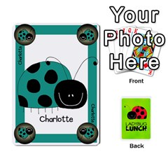 Ladybug Lunch Deck 1   Shared By Jonathan Warren   Playing Cards 54 Designs   Qrvr11mzalgs   Www Artscow Com Front - Club7