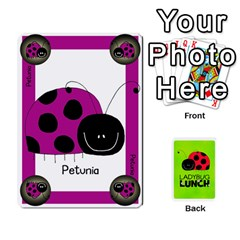 Queen Ladybug Lunch Deck 1   Shared By Jonathan Warren   Playing Cards 54 Designs   Qrvr11mzalgs   Www Artscow Com Front - ClubQ