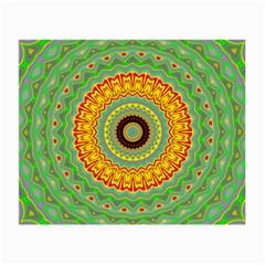 Mandala Glasses Cloth (small) by Siebenhuehner