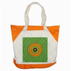 Mandala Accent Tote Bag by Siebenhuehner