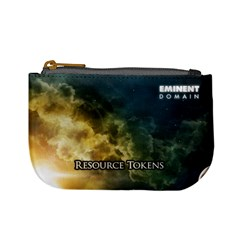 Eminent Domain   Resource Tokens By Rainer Ahlfors   Mini Coin Purse   6hga1cgnuc0c   Www Artscow Com Front