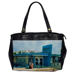 Wildwood Diner Oversize Office Handbag (one Side) by CrackedRadish