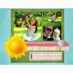 Summer By Summer Time    Wall Calendar 11  X 8 5  (12 Months)   Nia2bwn9hyfb   Www Artscow Com Month