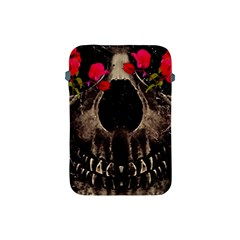 Death And Flowers Apple Ipad Mini Protective Sleeve by dflcprints
