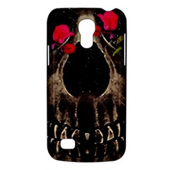 Death And Flowers Samsung Galaxy S4 Mini (gt I9190) Hardshell Case  by dflcprints