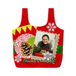 merry christmas - Full Print Recycle Bag (M)