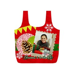 Merry Christmas Gift By Merry Christmas   Full Print Recycle Bag (s)   Uq043pxc5lyd   Www Artscow Com Front