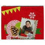 merry christmas gift - Cosmetic Bag (XXXL)