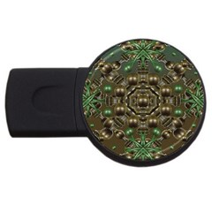 Japanese Garden 2gb Usb Flash Drive (round) by dflcprints