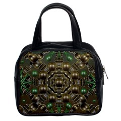 Japanese Garden Classic Handbag (two Sides) by dflcprints