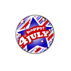 4th Of July Celebration Design Golf Ball Marker (for Hat Clip) by dflcprints