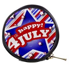 4th Of July Celebration Design Mini Makeup Case by dflcprints