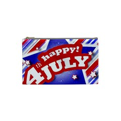 4th Of July Celebration Design Cosmetic Bag (small) by dflcprints