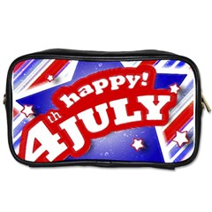 4th of July Celebration Design Travel Toiletry Bag (One Side) by dflcprints